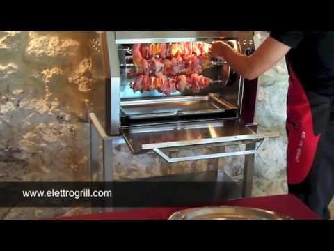 Cucinare allo spiedo con il forno Elettrogrill