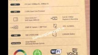 Caractéristiques Samsung Galaxy S5