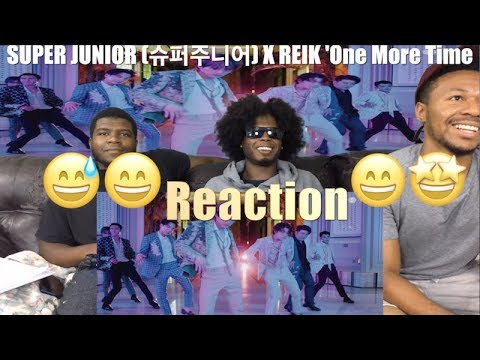 SUPER JUNIOR (슈퍼주니어) X REIK 'One More Time (Otra Vez)' MV (VFTC) Reaction !!🤩😂🤣