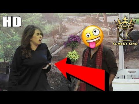 Sheeza Butt Jugtain Sarfraz Vicky   Gudu Kamal   Mithu Gee - New Stage Drama Clip KOMEDY KING 2019