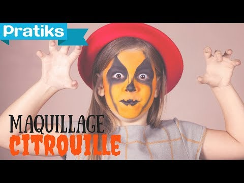 Maquillage - La citrouille