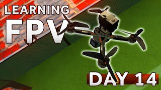 RIP My drone... its in PIECES [Day 14] Learning how to fly a FPV Drone LIFTOFF SIMULATOR