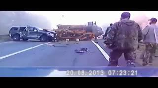 Подборка жестоких аварий со смертельным исходом!!! Видеорегистратор