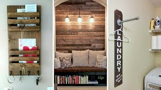 🏡 5 Easy And Cheap Rustic Home Décor Ideas Worth Trying For All Homeowners 🏡