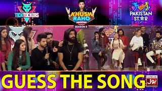Guess The Song | Khush Raho Pakistan Season 5 | Tick Tockers Vs Pakistan Star | Faysal Quraishi