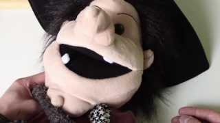 Handpuppen unter der Lupe - Hexe von The Puppet Company