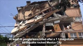 'Awful' earthquake shakes Mexico City