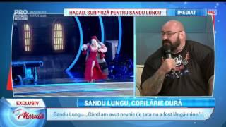 Sandu Lungu, Copilarie Grea