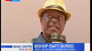 Veteran evangelist and founder of Voice of Salvation Silas Owiti laid to rest