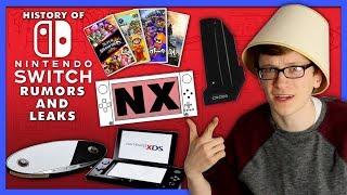 History of Nintendo Switch (NX) Rumors and Leaks - Scott The Woz