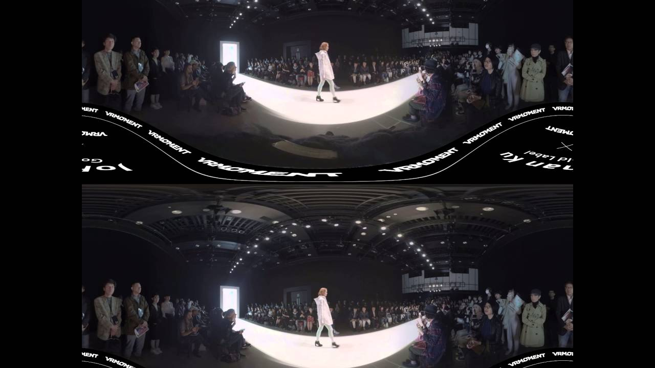 Johan Ku Gold Label【2016 AW Runway】3D+VR 虛擬實境紀錄