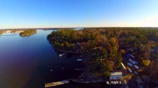 preview picture of video 'Dji Phantom 2 flying over Stockholm archipelago'
