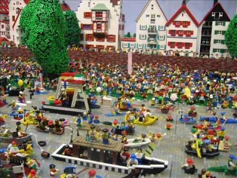 Nabada 2012 in Ulm in LEGO