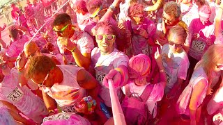 preview picture of video 'GoPro: THE COLOR RUN™ 2014 Trieste'
