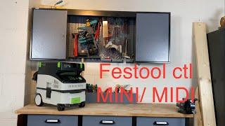 Festool ctl mini/midi absaugmobiel review, Vorstellung, Praxistest, Erfahrungsbericht