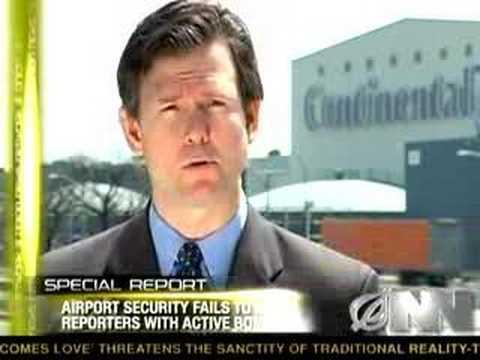 Reportéři prověřují bezpečnost na letištích