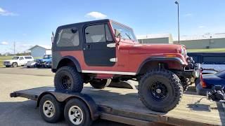 1985 Jeep CJ7 Restoration by Miller Brothers Auto Repair