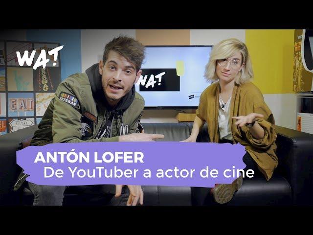 Entrevista y palomitas con Antón Lofer