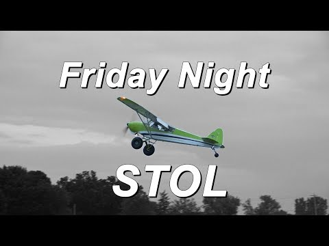 STOL Competition Twilight Flight Fest, Oshkosh 2019.