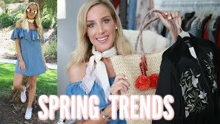 SPRING 2017 TRENDS WORTH TRYING