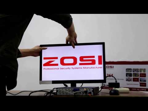 How to setup your ZOSI DVR system and ZOSI VIEW Mobile app ?