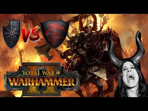 Chaos vs Vampire Counts | THE RIDERS OF THE APOCALYPSE - Total War Warhammer 2