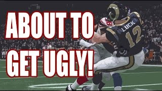 IT'S ABOUT TO GET UGLY!! - Ultimate Team Madden 15  | MUT 15 XB1 Gameplay