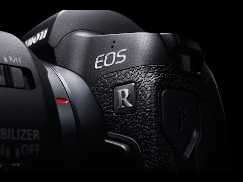 Canon EOS R full-frame myndavél, RF 24-105 linsa og EF-EOS R breytir-Myndband