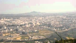 preview picture of video 'Tetouan, Morocco - city panorama from Mt. Bouanan'