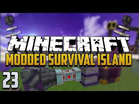 Minecraft: Modded Survival Island - Ep.23 - Technomancy!