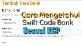 Cara Mengetahui Daftar Swift Code Bank Sesuai KCP Pembuatan Rekening