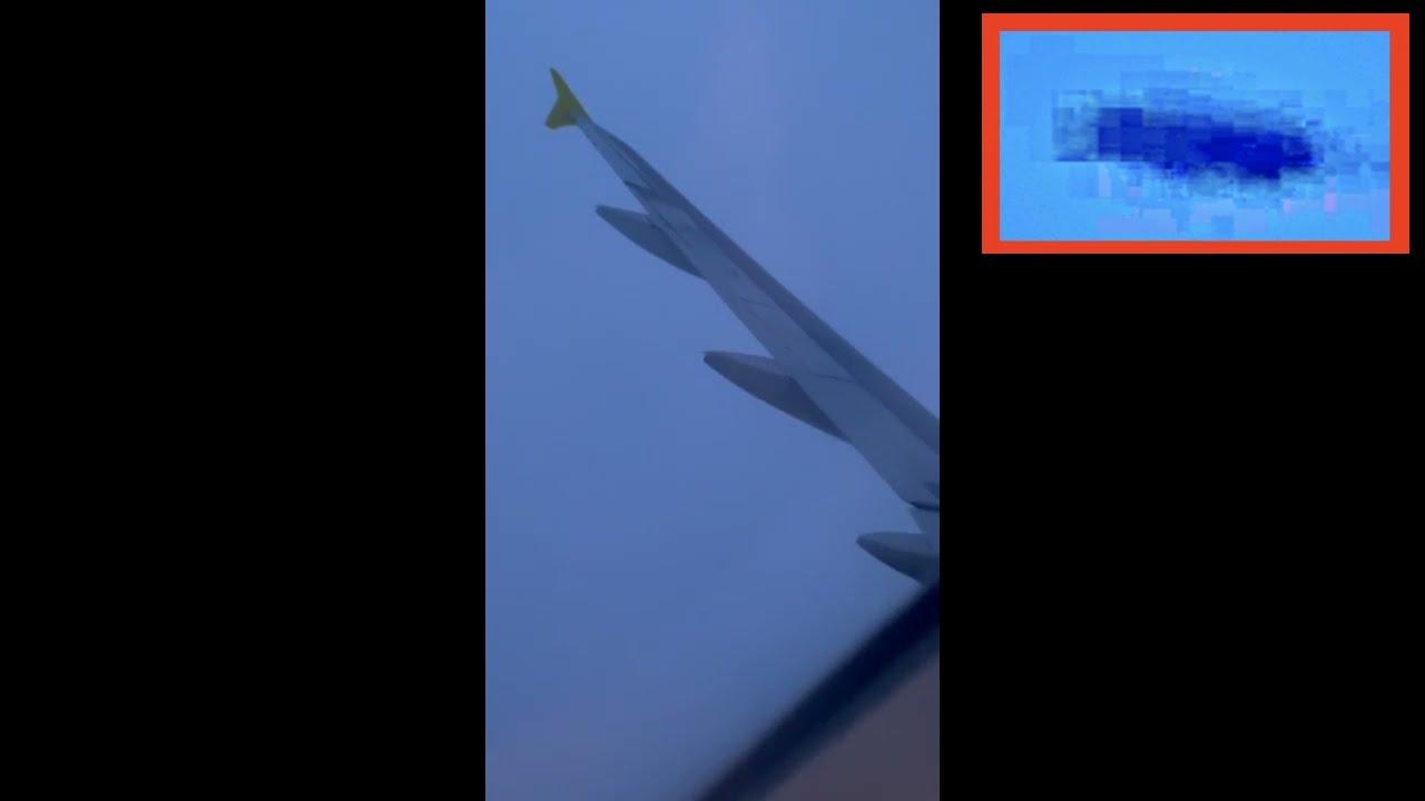 OVNI sigue avión sobre Florida el 30/8/2021