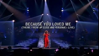 "Céline Dion - Because You Loved Me (theme from ""Up Close and Personal"") (live in Memphis,1997)"