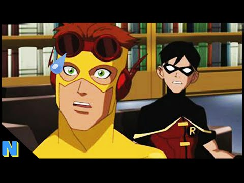 Top 5 Dirty Jokes in Young Justice Cartoons