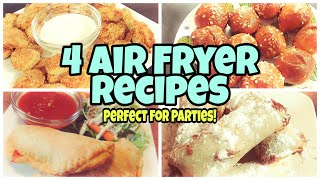 Air Fryer Recipes | Cook With Me | 4 Easy Recipes