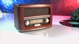 auvisio Nostalgie-Radio mit MW und UKW