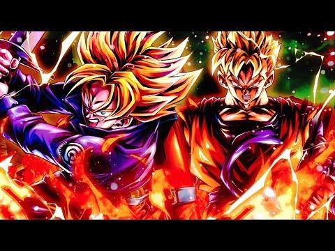 FUTURE NEEDS THAT ROSE GUY! Transforming SSJ Trunks & Future Gohan Combo! Dragon Ball Legends | DB