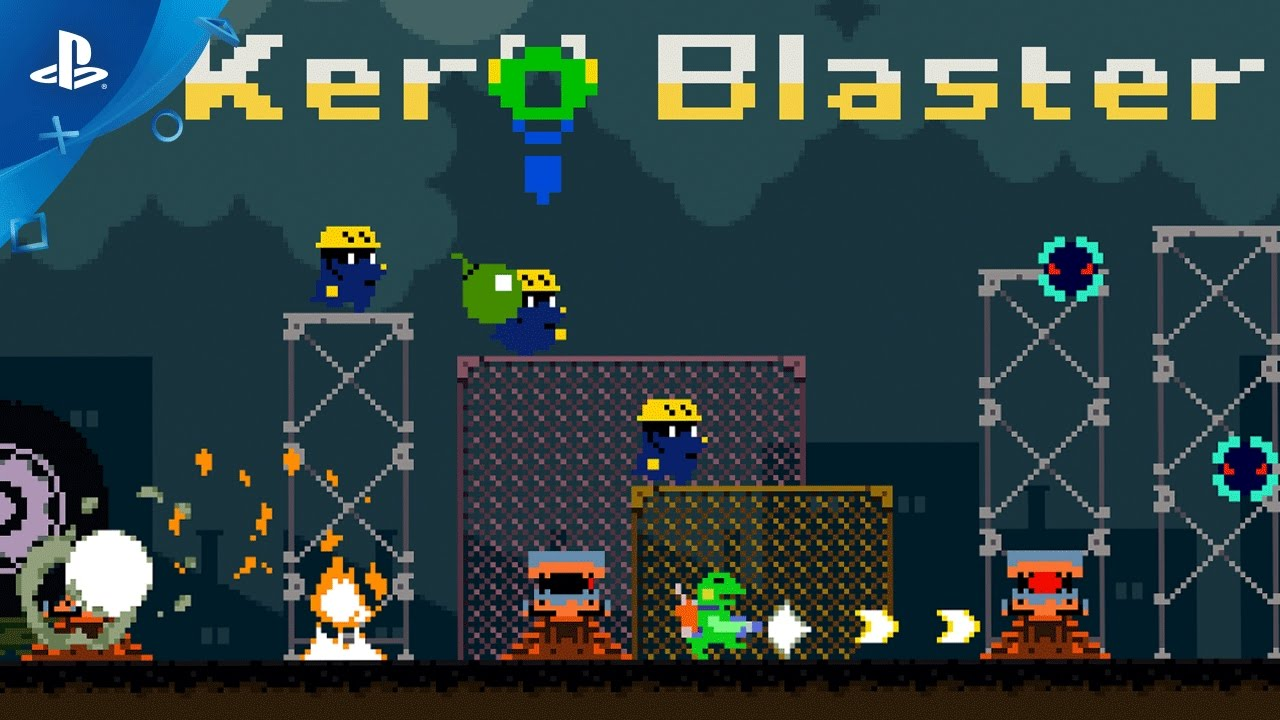 Kero Blaster Comes to PS4 Next Week