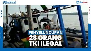 TNI AL Gagalkan Upaya Penyelundupan 28 TKI Ilegal ke Malaysia