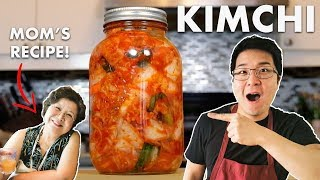 Traditional Homemade Kimchi Recipe (Fermented Cabbage)