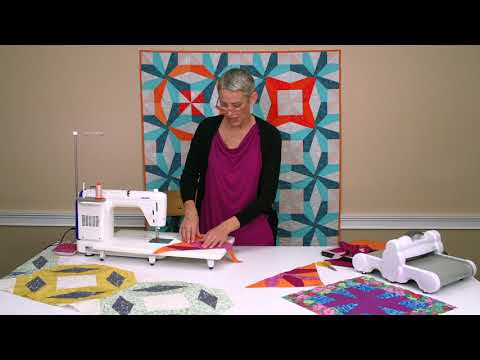 Modern Quilting With Victoria Findlay Wolfe And Her Flipside Die | Sizzix Quilting