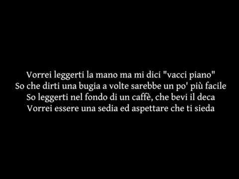 Carl Brave - Posso ft. Max Gazzé TESTO