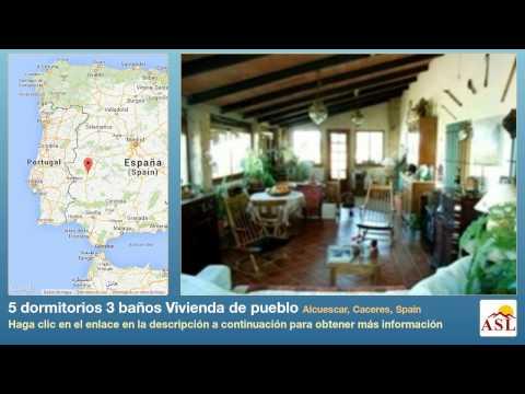 5 dormitorios 3 baños Vivienda de pueblo se Vende en Alcuescar, Caceres, Spain