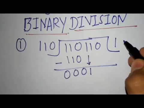 Dezimal in binar umrechnen