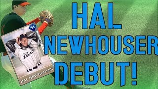 THESE FIELDING ANIMATIONS 😡😡 91 HAL NEWHOUSER DEBUT! MLB THE SHOW 19 DIAMOND DYNASTY GAMEPLAY