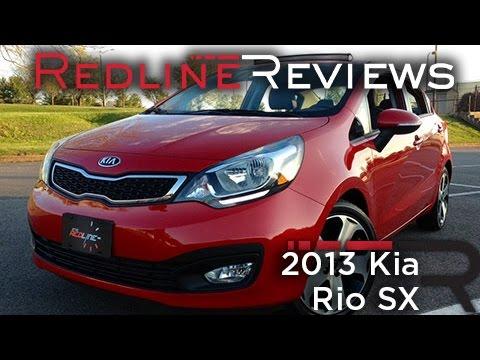 2013 Kia Rio SX – Redline: Review