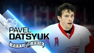Pavel Datsyuk won Stanley Cup twice with Red Wings