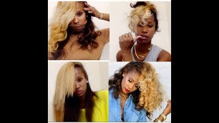 The GlamMore Collection Chocolate & Blonde Hair Color