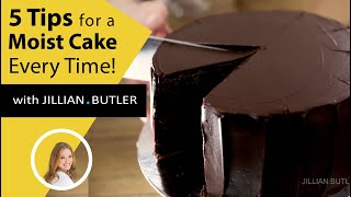5 Moist Cake Tips that work Every Time - Never Dry Again!
