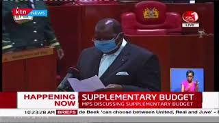 Kenyan MPs discuss supplementary budget